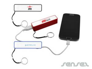 Power Banks wit Keyring