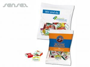 Fruit Chews in Branded Bags (50g)