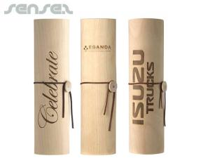 Wooden Wine Cylinders