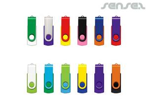 Mix and Match Swivel USB Sticks (2GB)