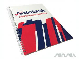 Custom A4 Wiro Notebooks (hard cover)