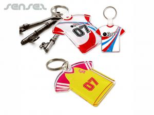 Team Shirt Acrylic Keyrings