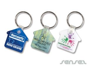 Flexible House Keyrings