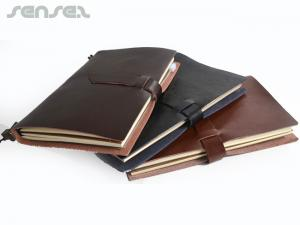 Crafted Leather Strap Notebooks (A5)