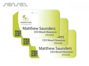 ECO  Paper Conference Name Tags