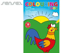 Kids Colouring Books (A4)