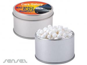 Peppermints Round Tins