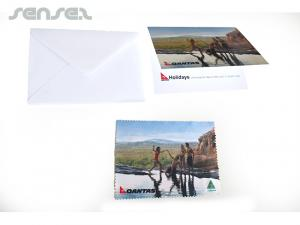 Greeting Microfiber Gift Cards