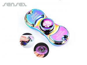 Metallic Rainbow Fidget Spinners
