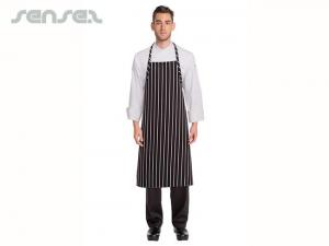 Chef Aprons With Stripes Lrg