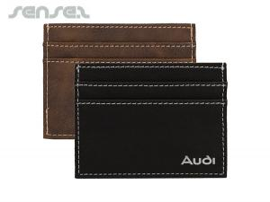 Leatherette Slim Wallets