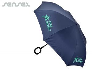 Innovative Umbrellas with J Or C Handle
