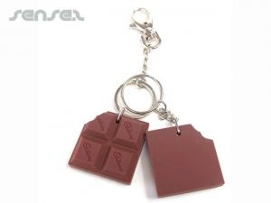 Scented Custom Shaped Keyrings