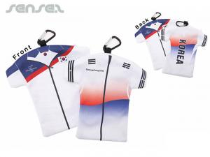 Team Shirt Microfiber Pouches