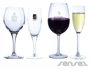 Wine Or Champagne Drinking Glasses