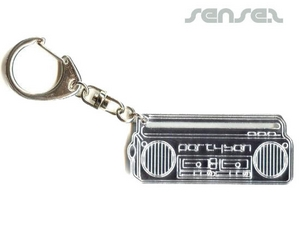 Mirror Key Chains