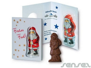 Xmas Chocolate Cards