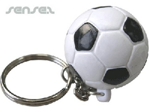 Ball Shaped Keyrings - Soccer Ball