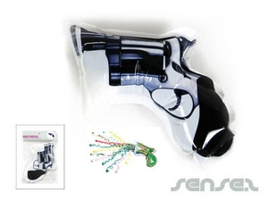 Inflatable Party Popper Guns