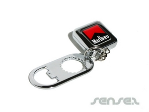 Retractable Badge Bottle Openers