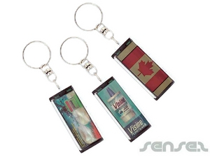 Solar LCD Key Chains