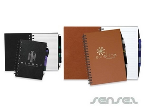 Small Faux Leather Notebooks