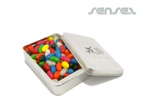 Jelly Beans - Small Rectangle Tin