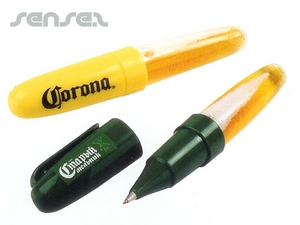 Beer or Cola Liquid Filled Pens