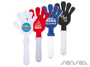 Large Hand Shaped Clappers