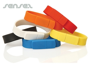 Silicone Wristband USB Sticks (2GB)