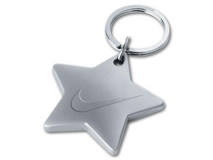 Chunky Shaped Metal Key Chains