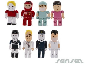 Professionals In Uniforms 2GB USB