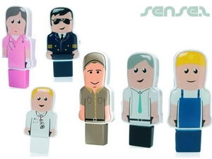 Mini People USB Sticks 2GB