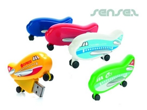 Plane Shaped USB Sticks 2GB