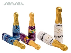 Champagne Bottle Lolly Containers