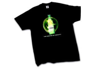 Illuminated LED Lights Logo T-shirts