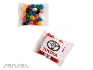 Jelly Beans in Logo Farben