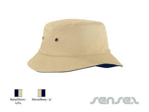 Contrast Under Brim Bucket Hats