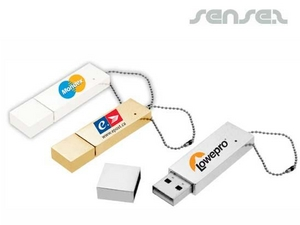 Slick Metal USB Stick (2GB)