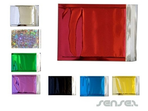 Coloured Silver Foil Envelopes
