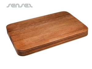Grooved Wooden Chopping Boards (Small)