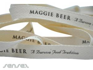 Cotton Herringbone Ribbon
