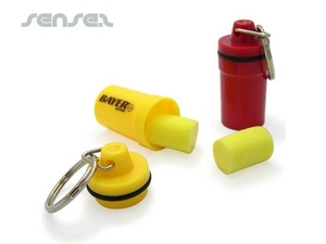 Ear Plugs in Cylinder
