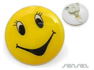 LED Blinking Button Badges