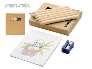 8 Piece Pencil Colouring Set