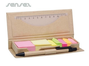 Eco Stationery Kits with Post Its