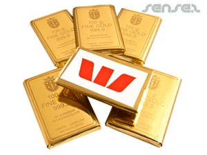 Gold Bullion Chocolate