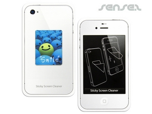 Microfiber iPhone or iPad  Sticker