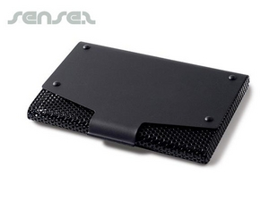 Black Mesh  Business Card Holder