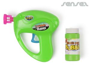 Bubble Guns with Fluid